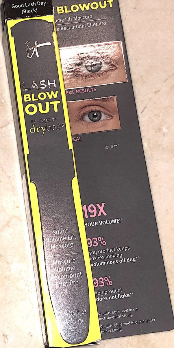 OUTER BOX FOR LASH BLOWOUT MASCARA