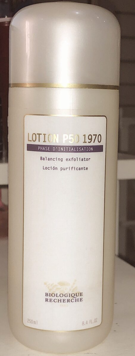 LOTION P50 1970 HAS CHANGED MY SKIN FOR THE BETTER