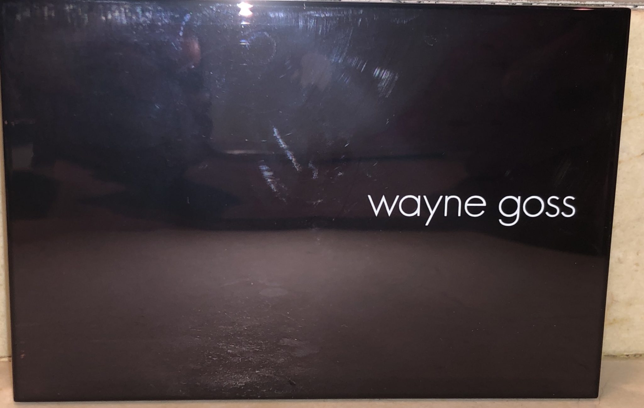 WAYNE GOSS IMPERIAL TOPAZ EYESHADOW PALETTE OUTER BOX