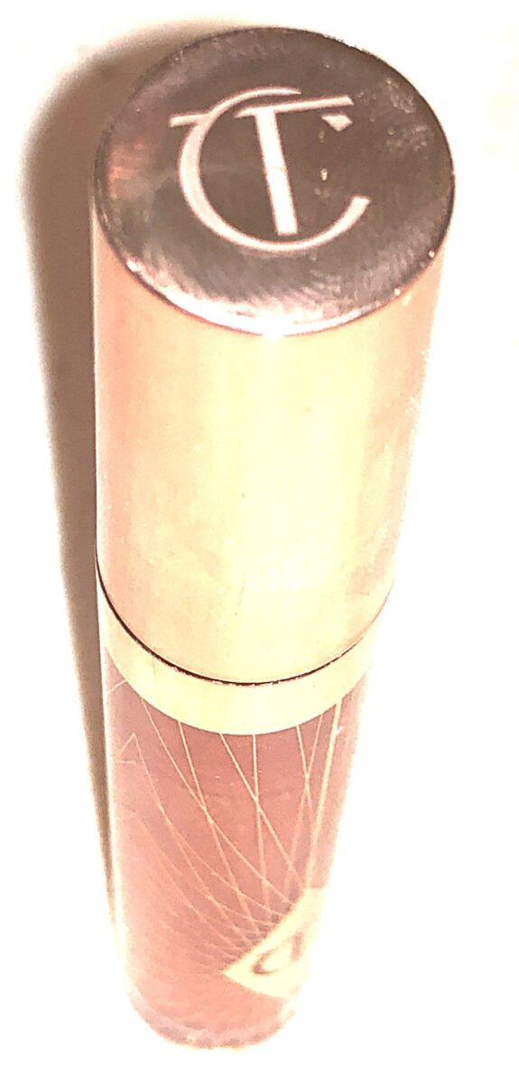 CT COLLAGEN LIP BATH PACKAGING, WITH ROSE GOLD DESIGN AND ROSE GOLD LID