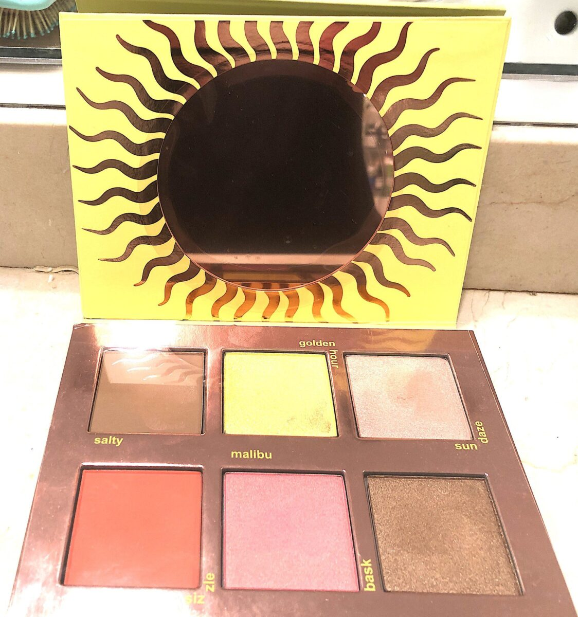 THE LIME CRIME SUNKISSED FACE PALETTE
