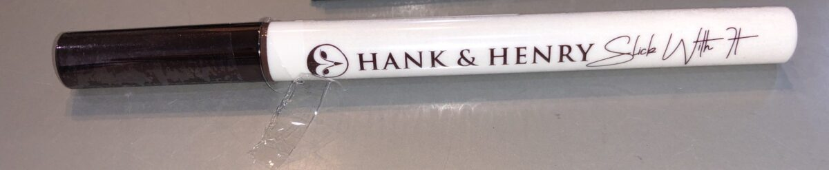 HANK AND HENRY'S BLICKETY BLACK EYELINER