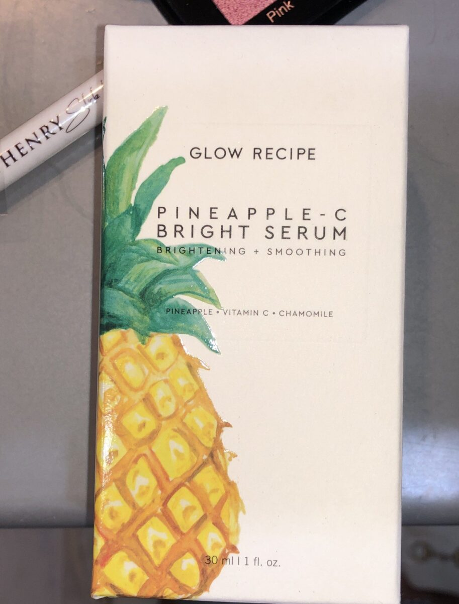 PACKAGING FOR GLOW RECIPE PINAPPLE VITAMIN C BRIGHT SERUM