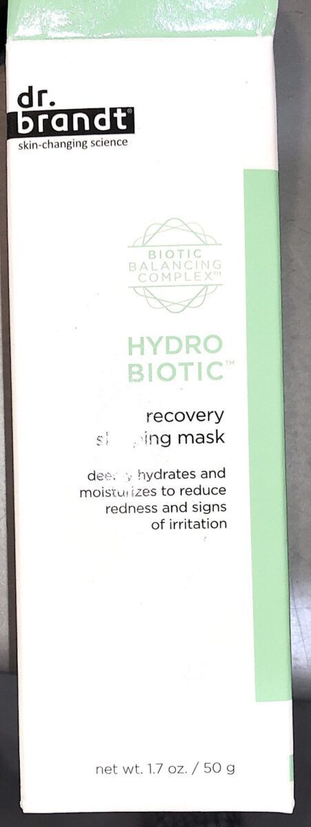 THE HYDROBIOTIC RECOVERY SLEEPING MASK IN THE BOXYLUXE BOX SEPTEMBER 2019