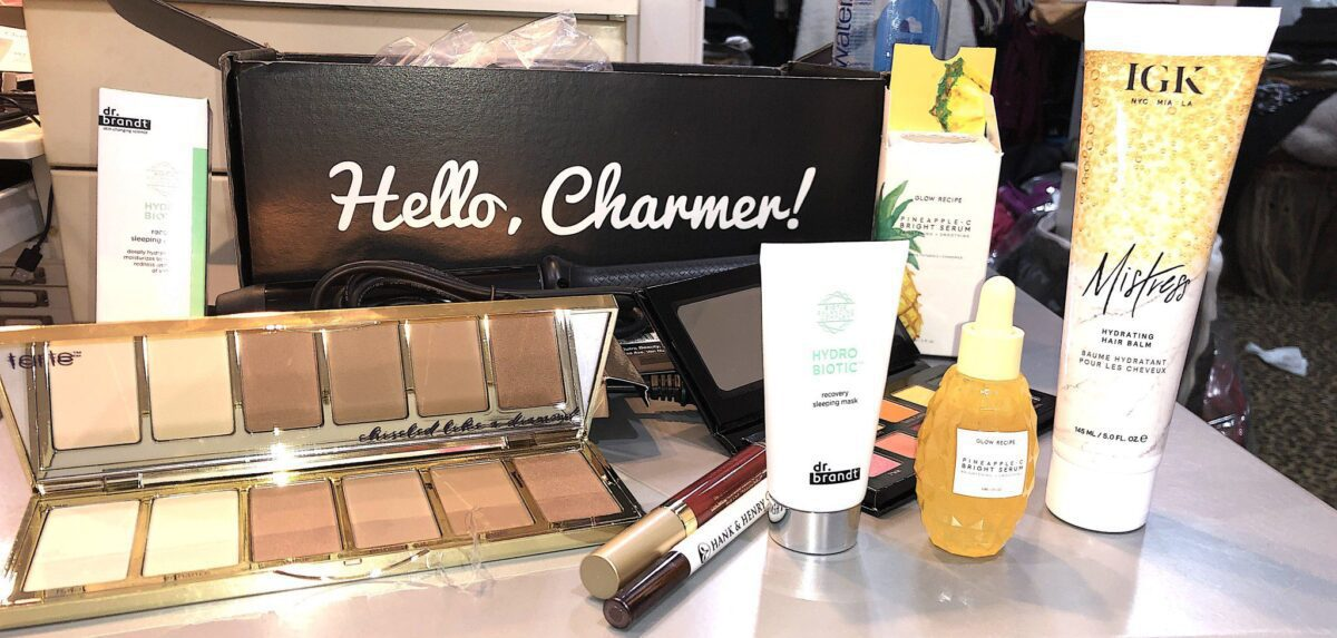 UNBOXED PRODUCTS IN SEPTEMBER 2019'S BOXYLUXE BOX