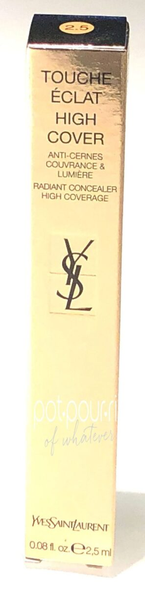 YSL TOUCHE ECLAT HIGH COVER RADIANT CONCEALER PACKAGING