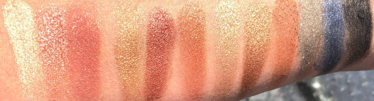 CHARLOTTE TILBURY ICONIC EYESHADOW PALETTE SWATCHES