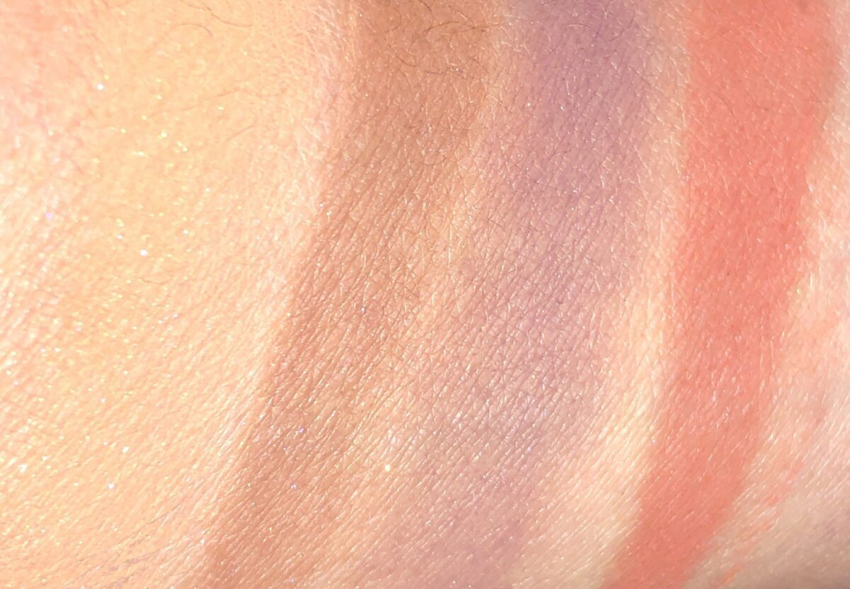 SMOKY EYE BRICK SWATCHES, CARAMEL, CASHMERE, OXBLOOD, AND RUST