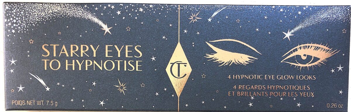 OUTER PACKAGING FOR CHARLOTTE TILBURY STARRY EYES TO HYPNOTIZE