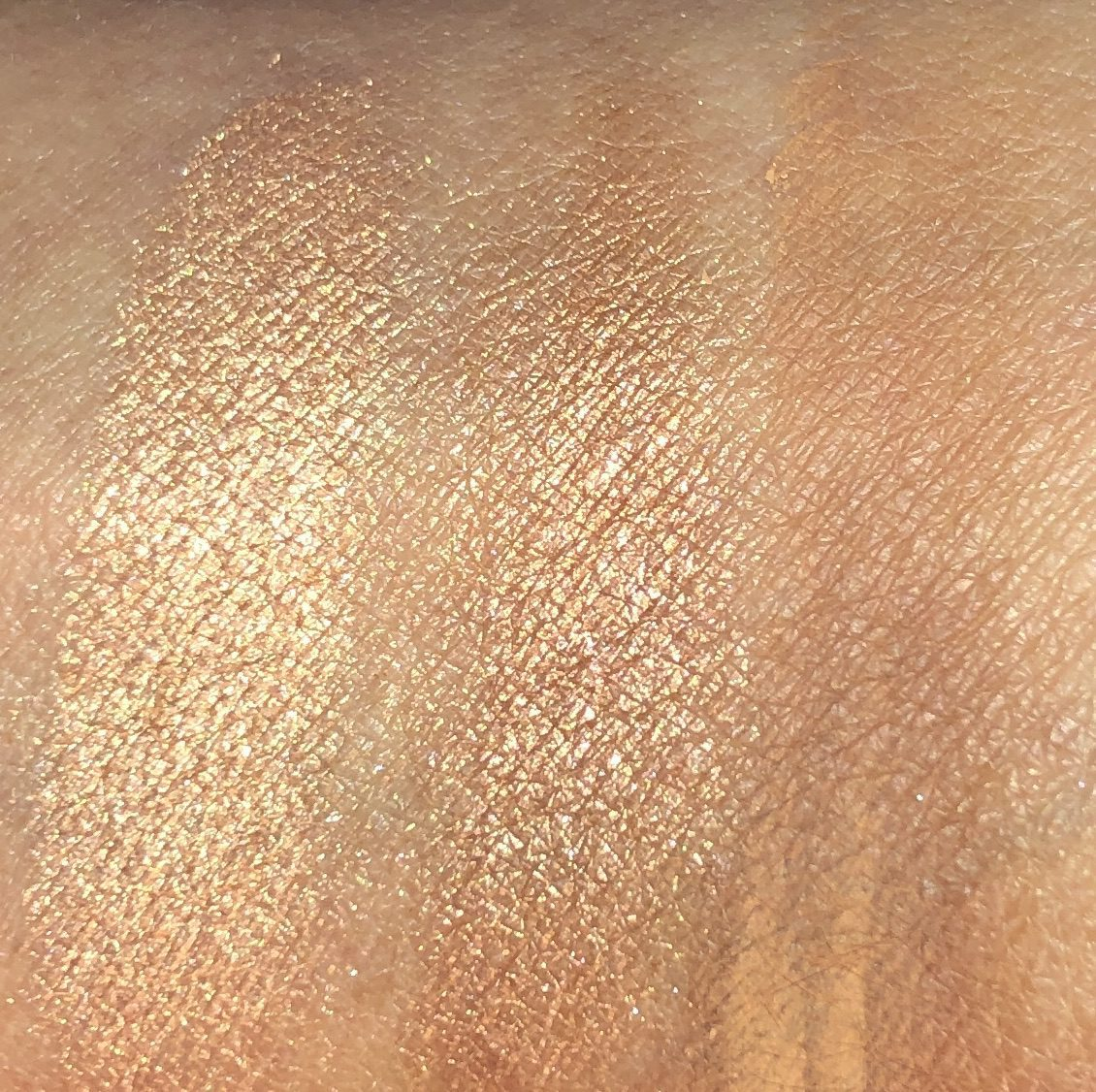 SWATCHES HAPPY GLOW SHADES 1, 2, AND 3