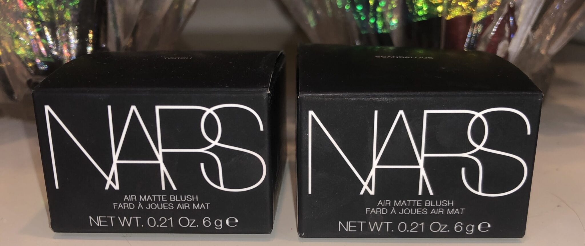 Nars Air Matte Blush outer boxes