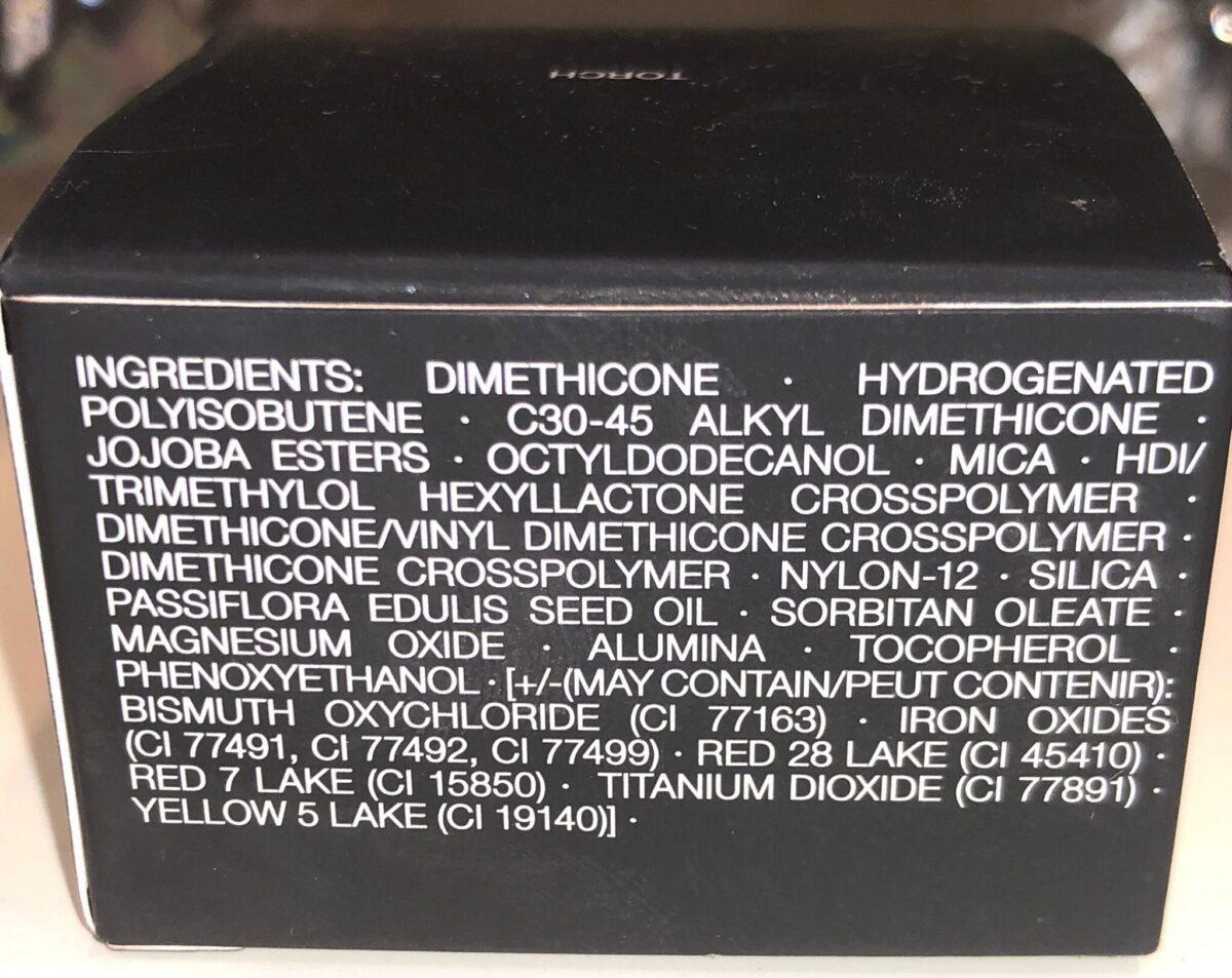 Nars Air Matte Blush Ingredients for Torch