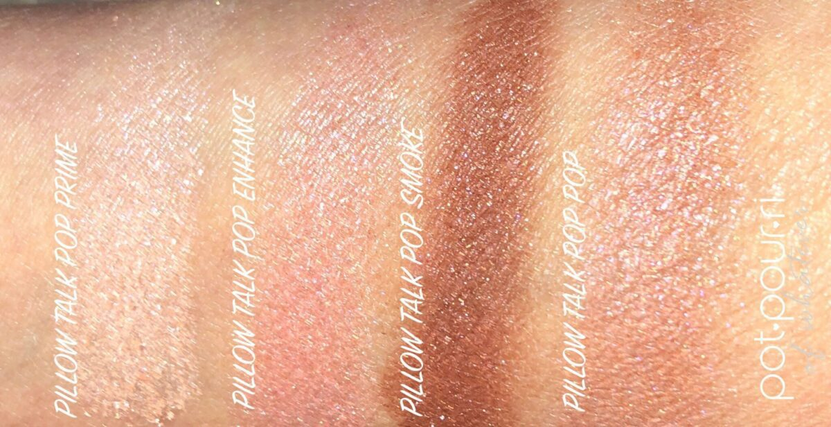 SWATCHES FOR PILLOW TALK POP