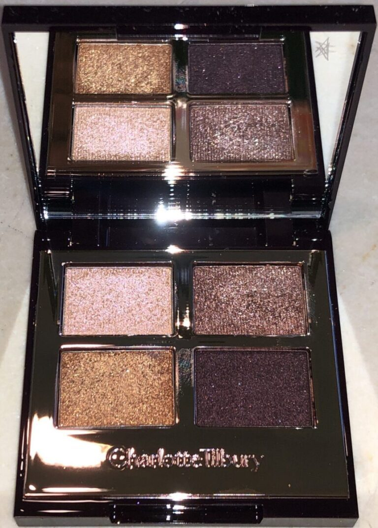 INSIDE THE CHARLOTTE TILBURY CELESTIAL POPS PALETTE, A FULL SIZED MIRROR AND FOUR POPS