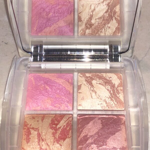 THE HOURGLASS GHOST BLUSH PALETTE WITH MIRROR AND FOUR SHADES
