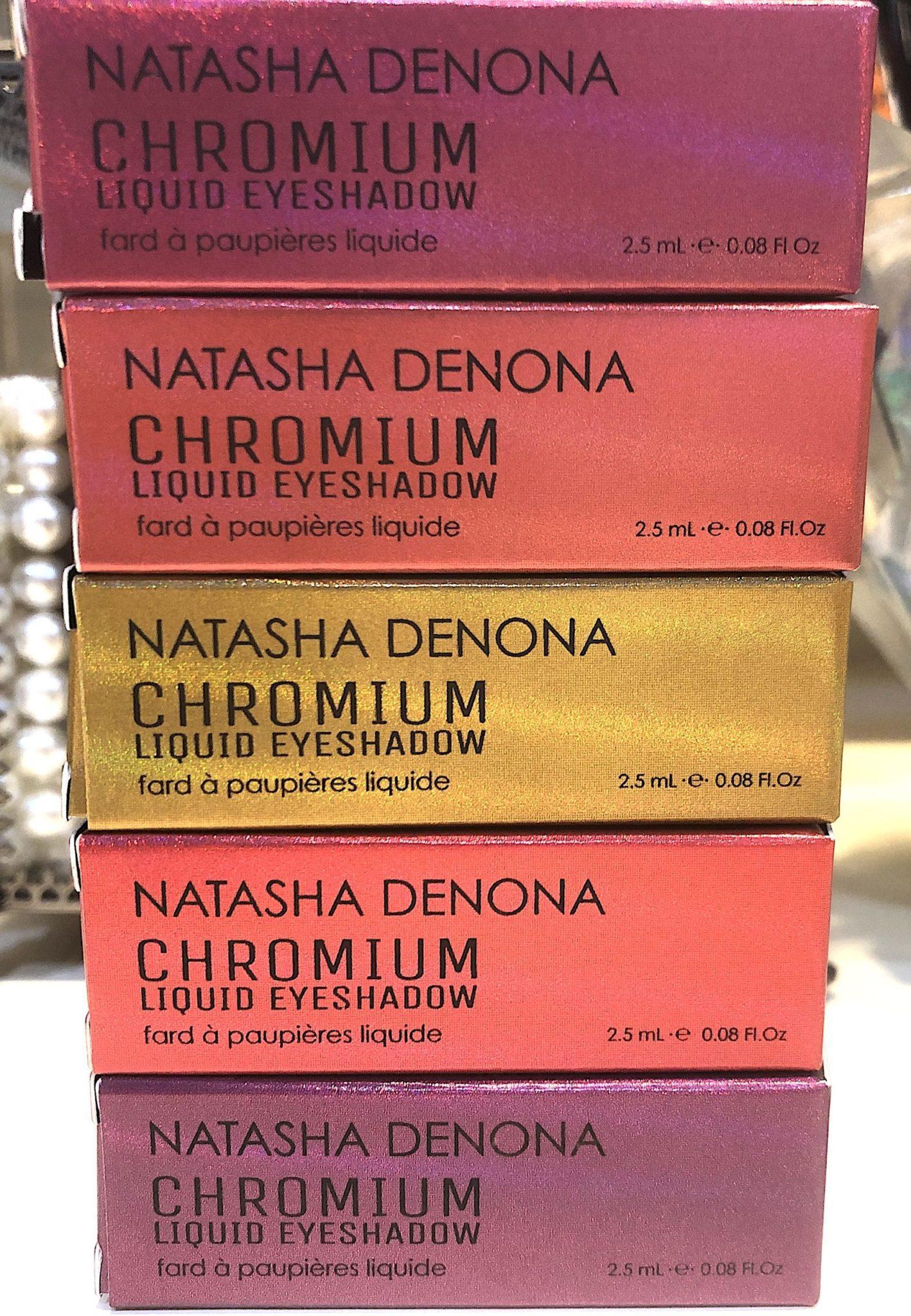 Natasha Denona Chromium Multichrome Liquid Shadow Packaging