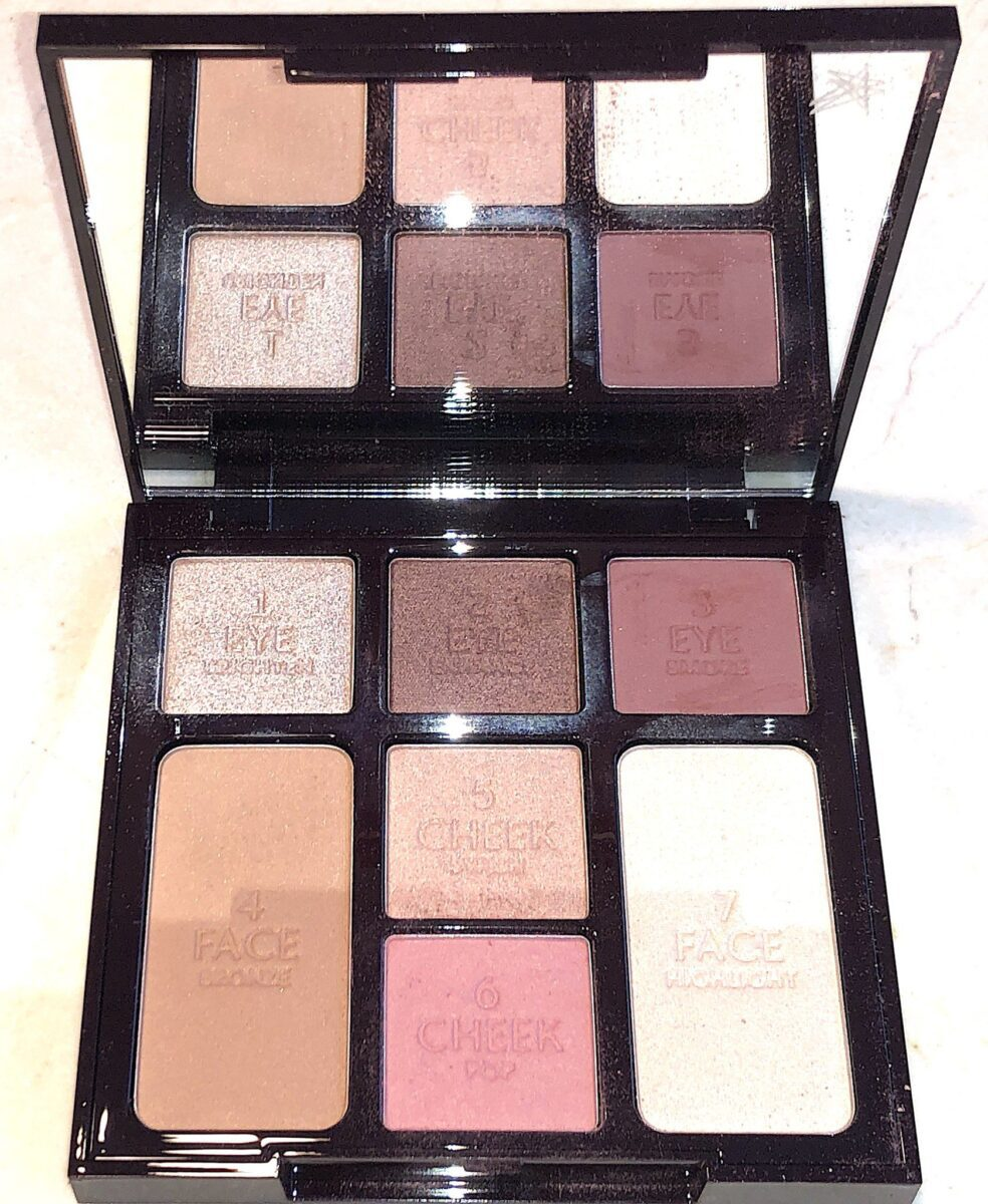INSIDE THE GORGEOUS GLOWING FACE PALETTE