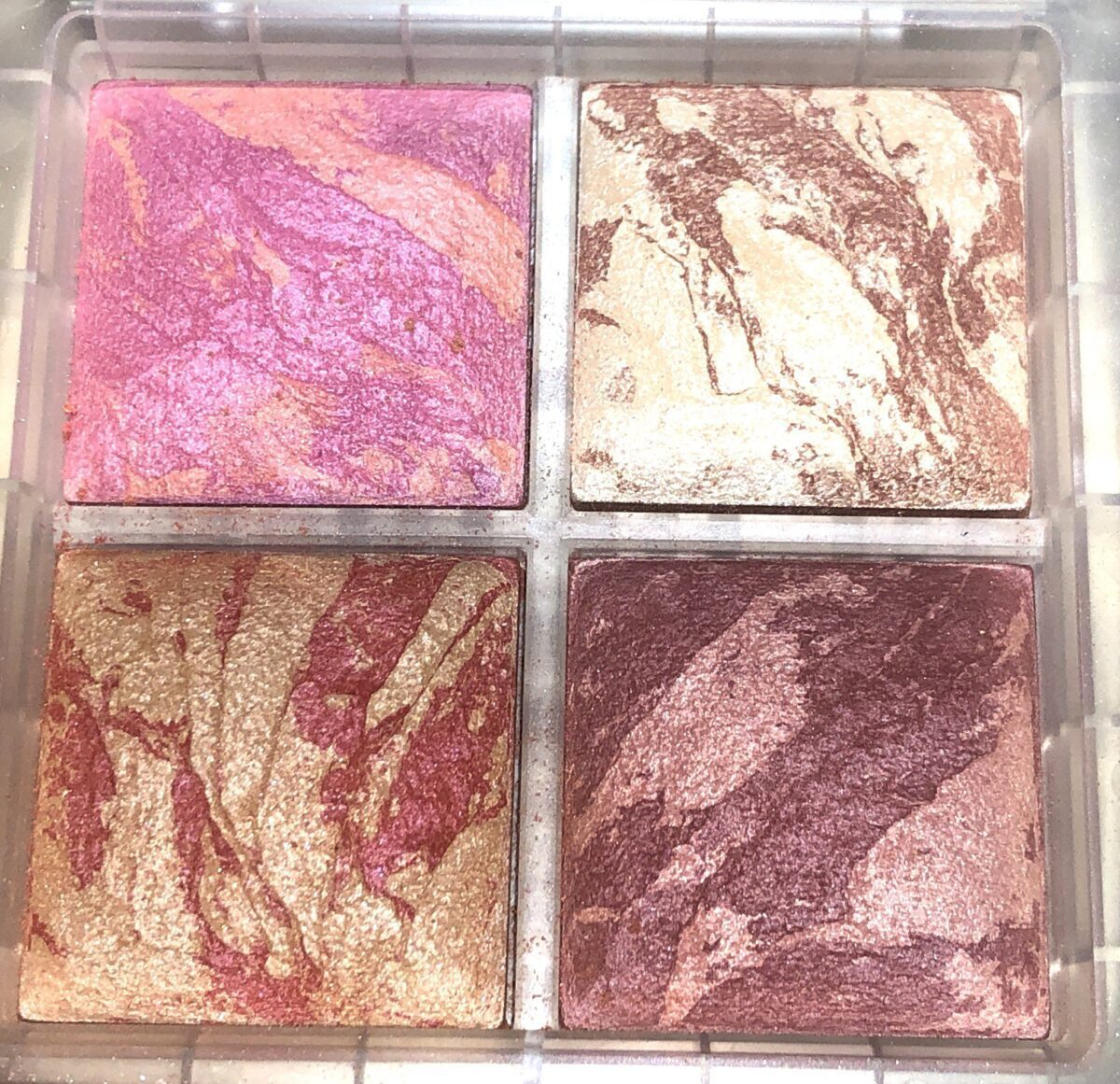 THE SHADES IN THE HOURGLASS GHOST BLUSH PALETTE