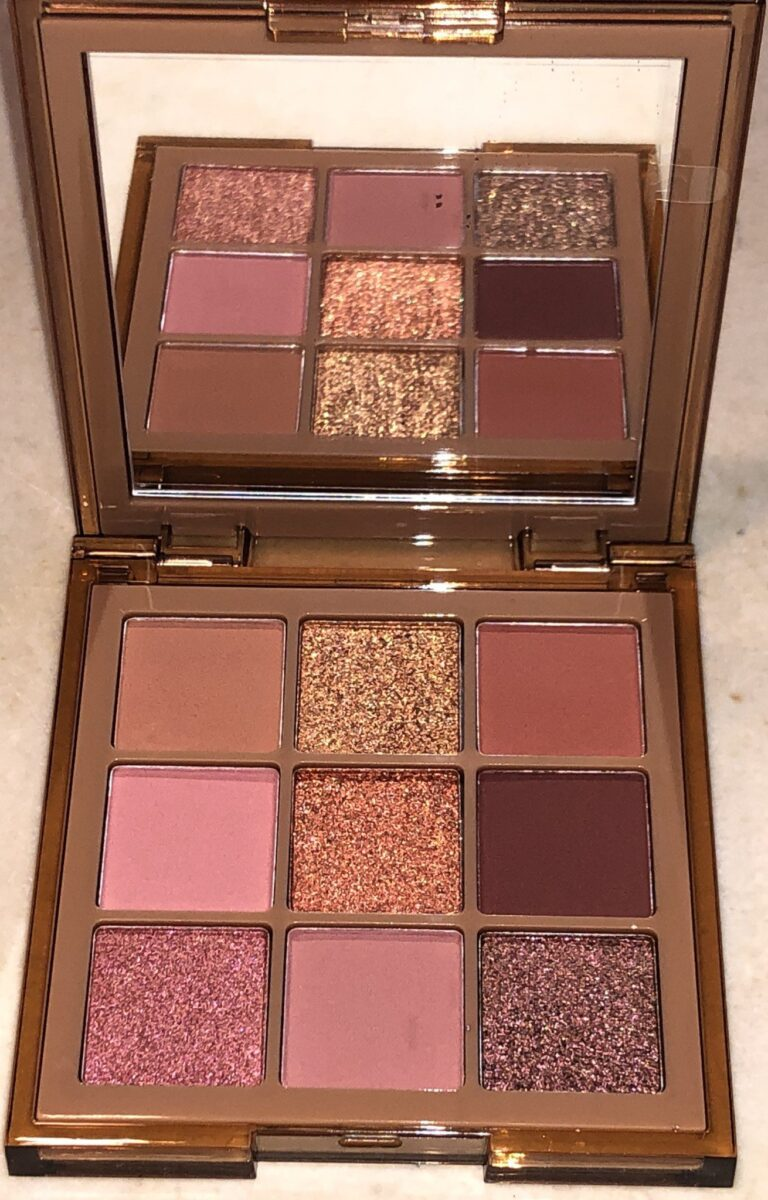 HUDA NUDE OBSESSIONS EYE PALETTE MINI IN NUDE MEDIUM