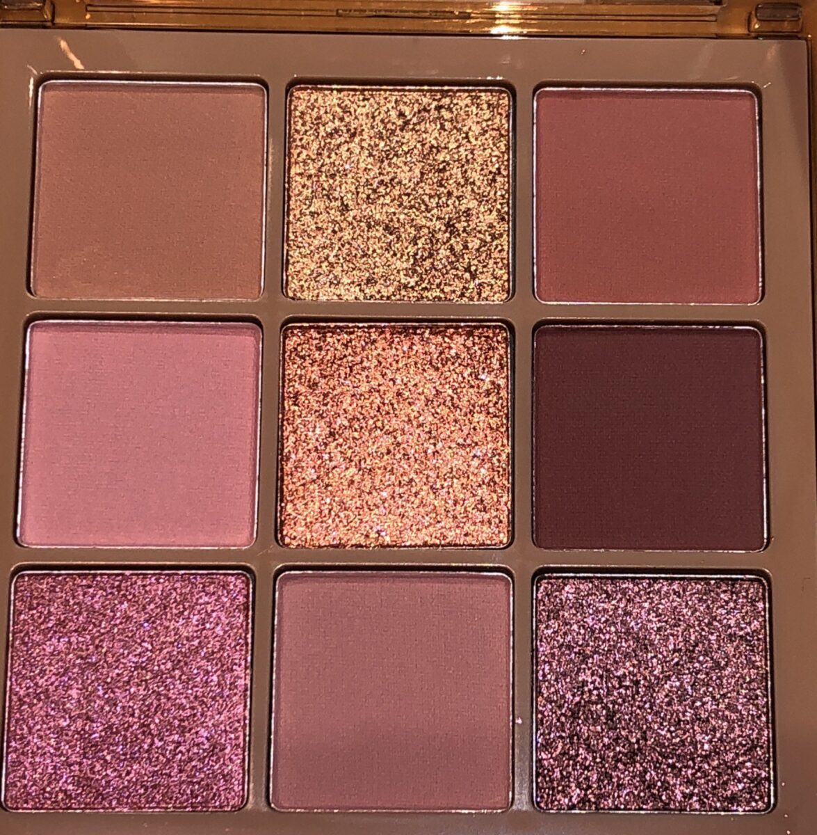 HUDA NUDE OBSESSIONS EYE PALETTE IN MEDIUM SHADES