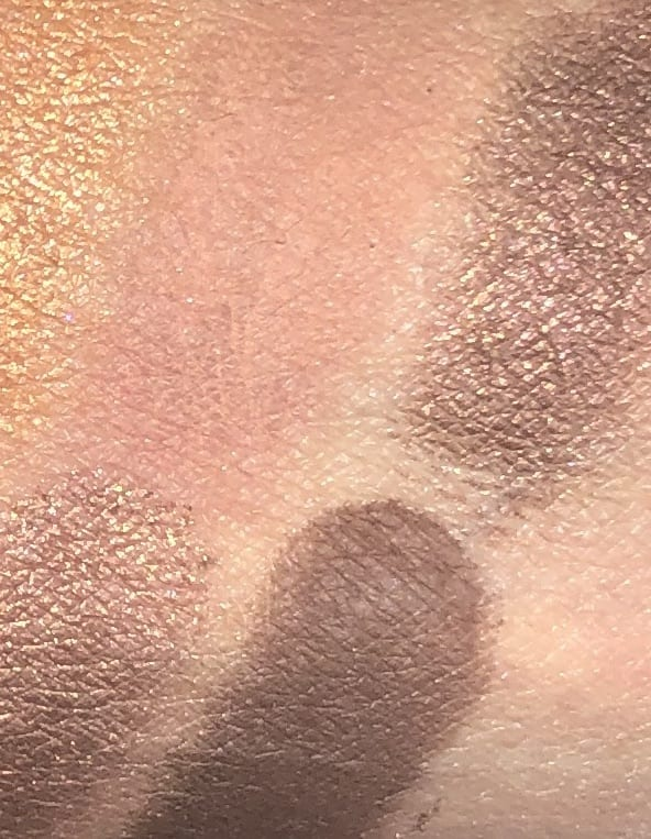 SWATCHES COCOA/SUGARED CHESTNUT, SPARKLING SABLE AND TRUFFLE