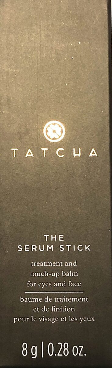 TATCHA SERUM STICK OUTER BOX