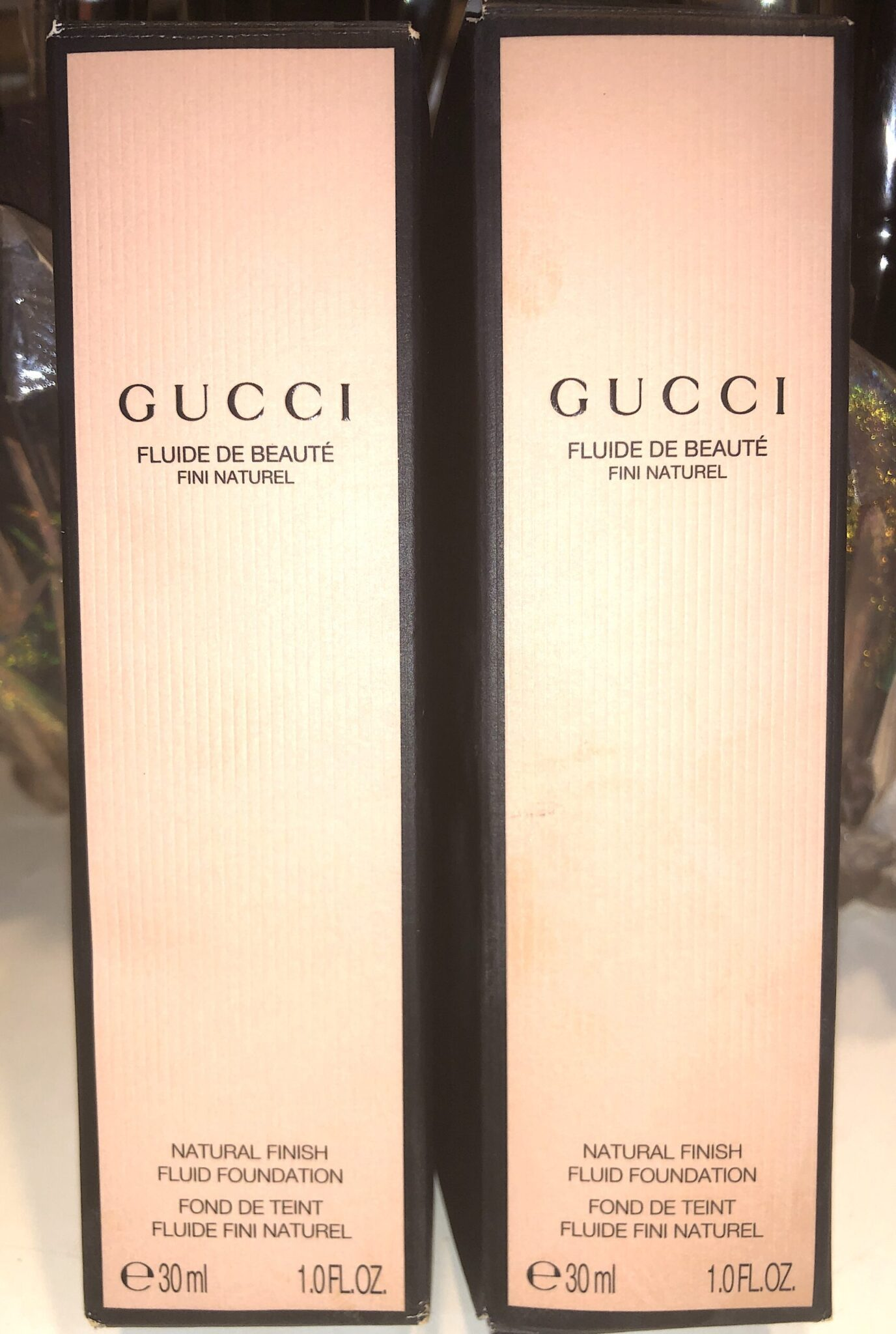 Gucci Natural Finish Fluid Foundation Outer Box