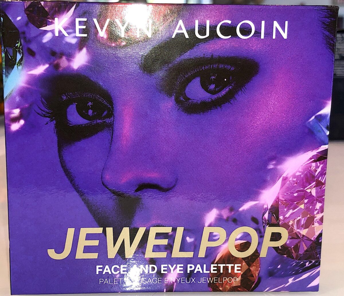 THE COMPACT/CASE FOR THE KEVYN AUCOIN JEWEL POP PALETTE