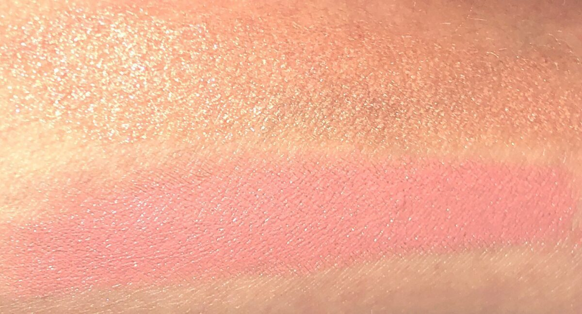 SWATCHES FOR MEGEVE BLUSH GLOW STICK
