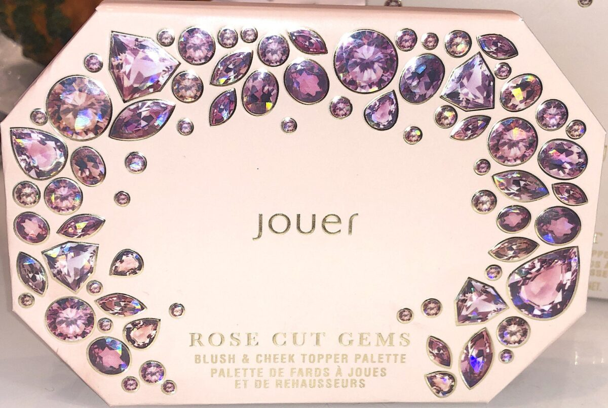 THE JOUER ROSE CUT GEMS BLUSH PALETTE CASE