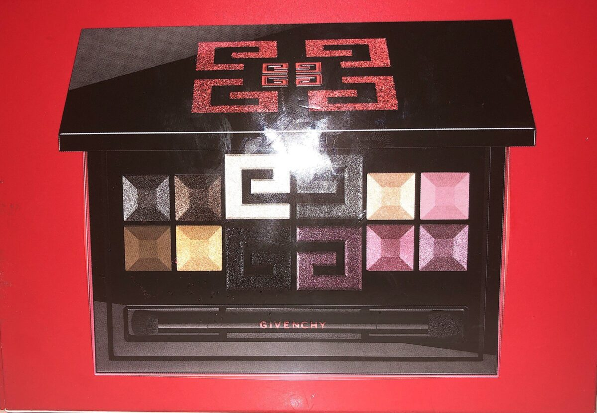 INSIDE THE GIVENCHY RED EDITION PALETTE