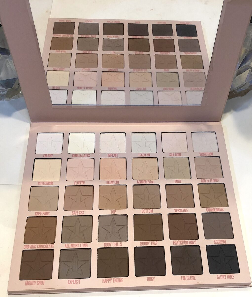 INSIDE THE JEFFREE STAR ORGY PALETTE