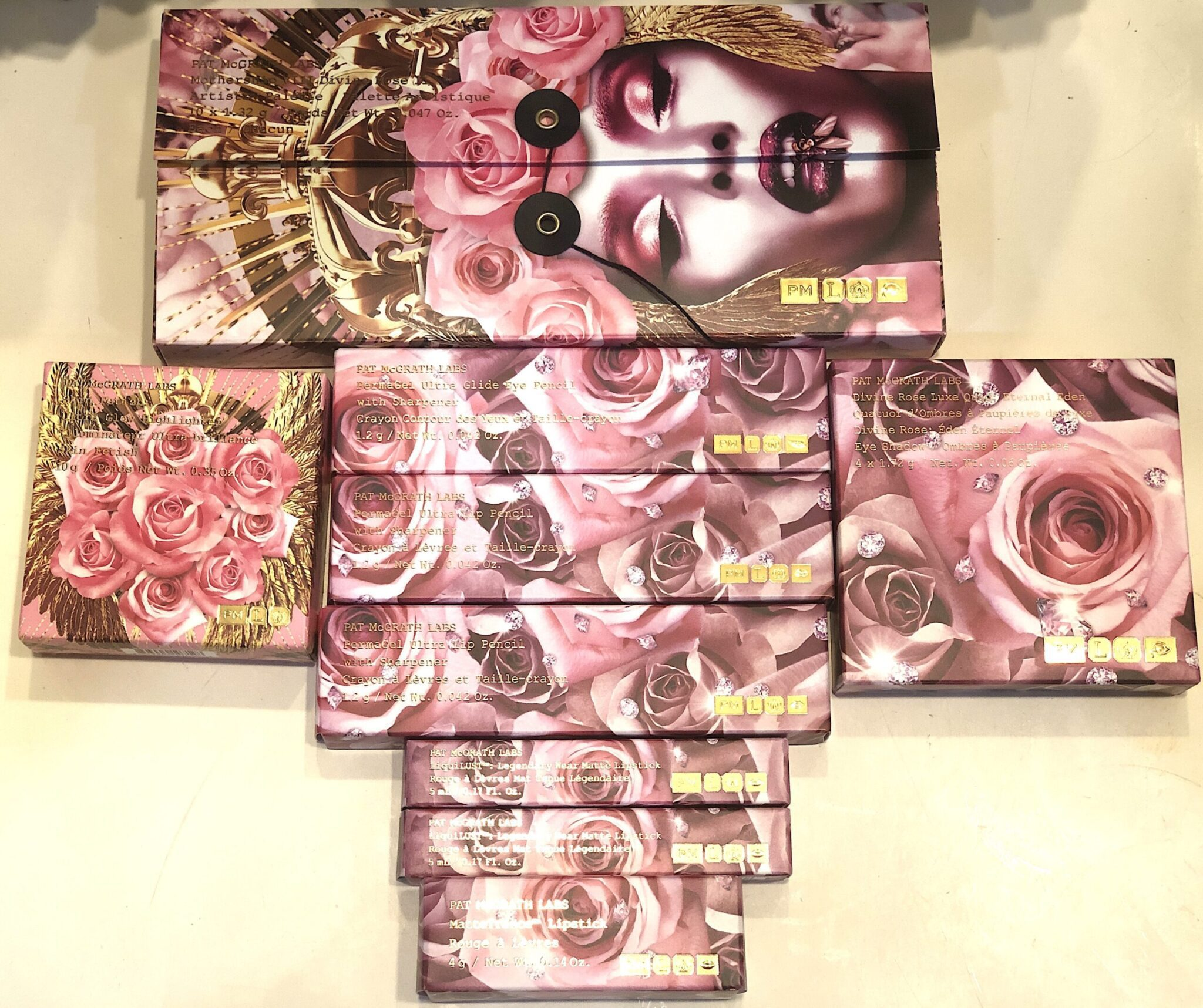DIVINE ROSE 11 TOTALE COLLECTION PACKAGING