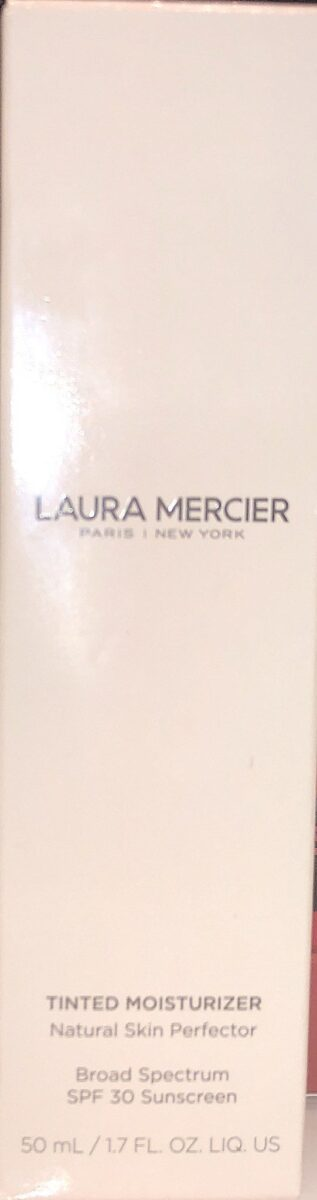 LAURA MERCIER TINTED MOISTURIZER OUTER BOX