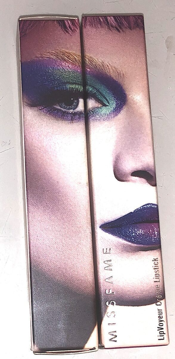 MISS FAME LIP VOYEUR CREAM LIPSTICK PACKAGING