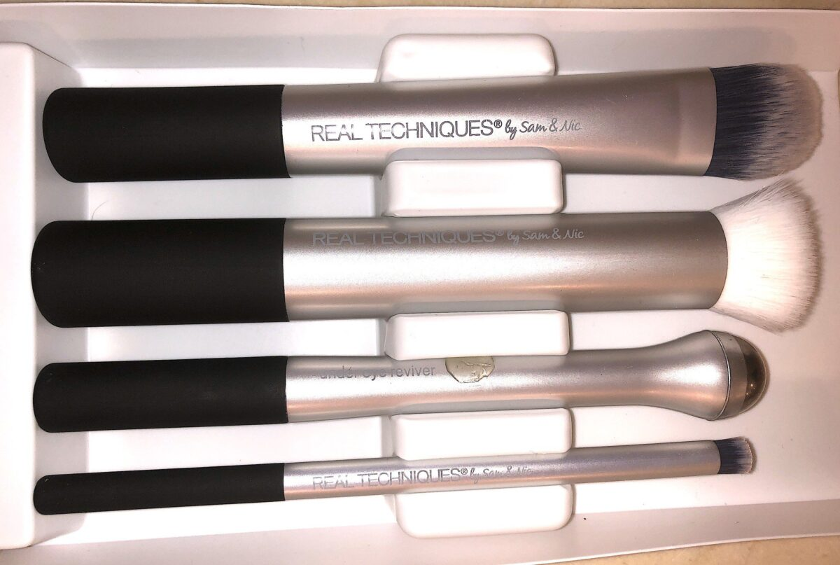 PREP & PRIME BRUSH SET IN PLASTIC PACKAGING