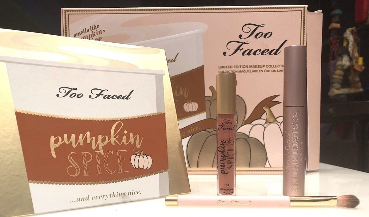 THE WHOLE TOO FACED PUMPKIN SPICE COLLECTION FOR 2019