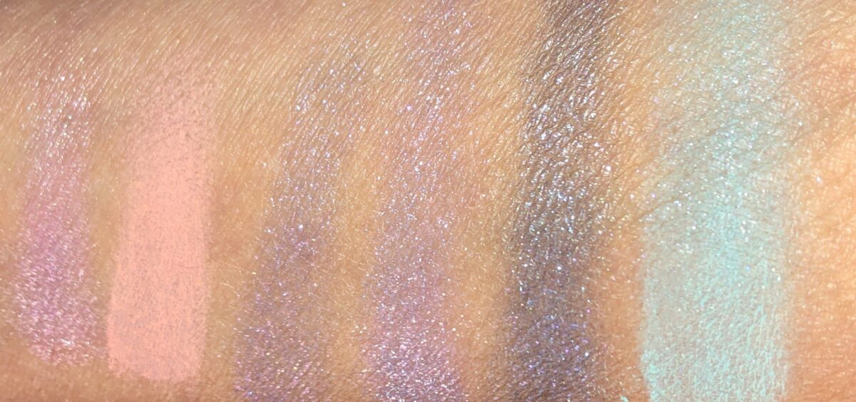 ROW 1 SWATCHES - COSMIC, UTOPIA, ULTRAVIOLET, NEBULA, MERCURY AND HAZE