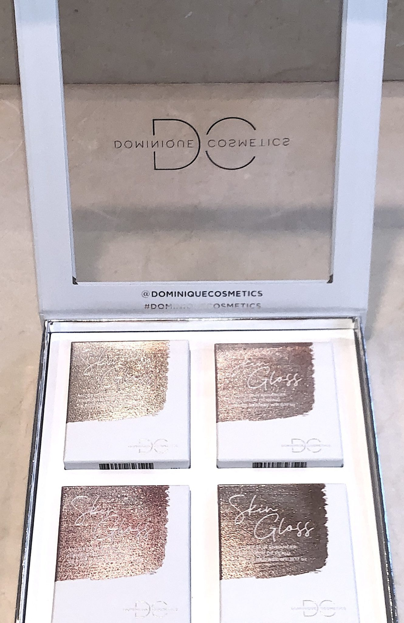 DOMINIQUE COSMETICS OPENED SKIN GLOSS BUNDLE