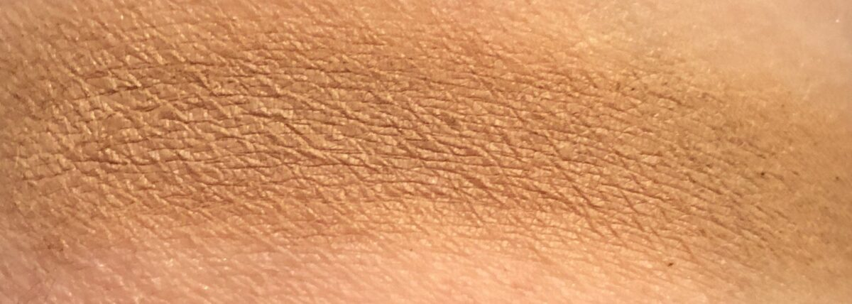 warmth bareMinerals swatch endless summer bronzer powder swatch