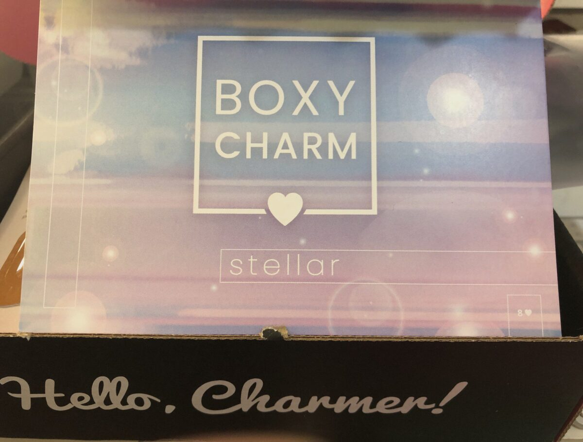 THE STELLAR BOXY CHARM NOVEMBER 2019 BOX
