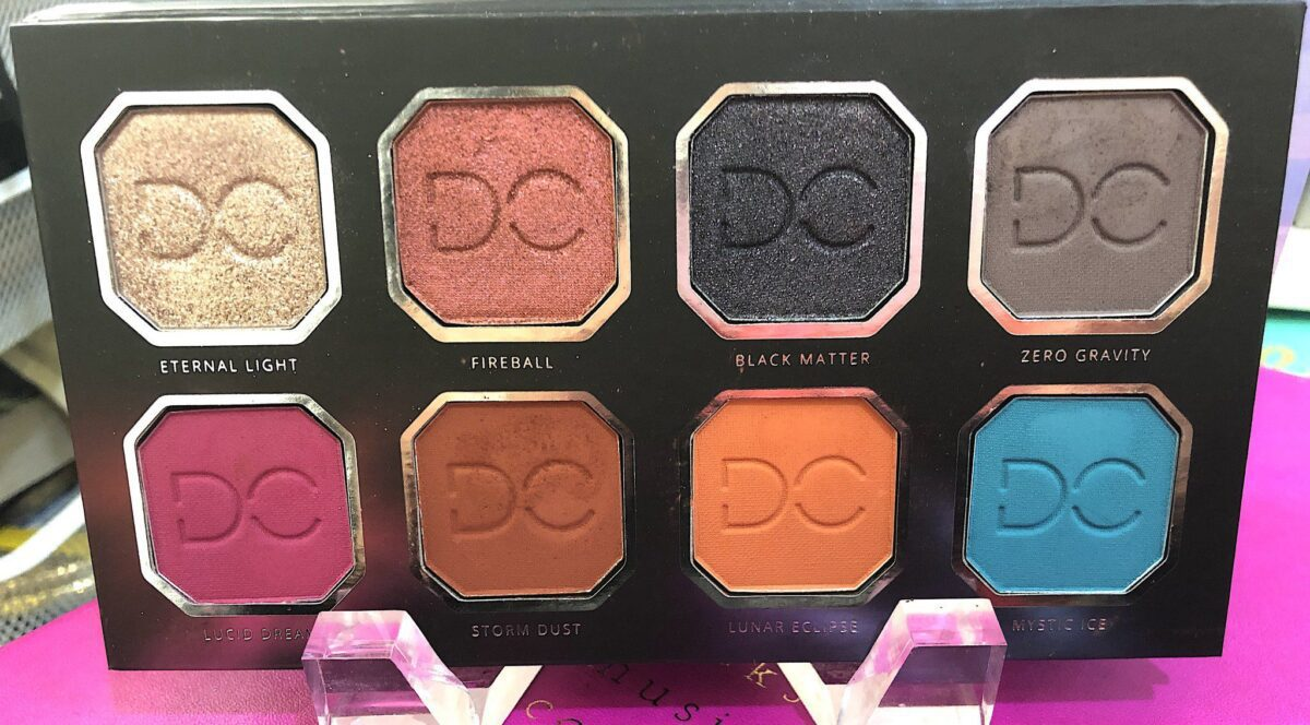 THE SHADE NAMES ARE CELESTIAL IN THE DOMINIQUE CELESTIAL THUNDER PALETTE