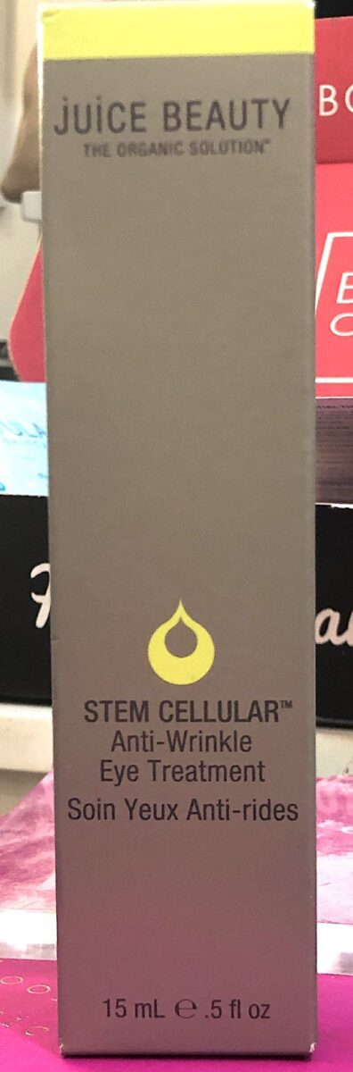 JUICE BEAUTY STEM CELLULAR ANTI WRINKLE EYE TREATMENT PACKAGING