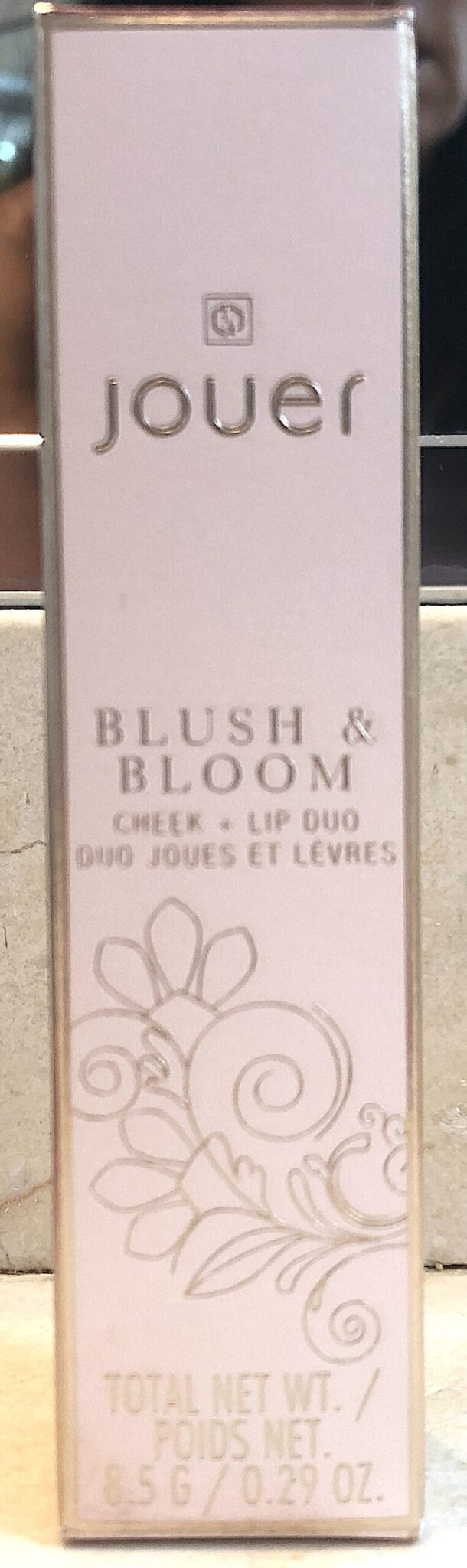 JOUER BLOOM & BLUSH CHEEK & LIP DUO OUTER BOX