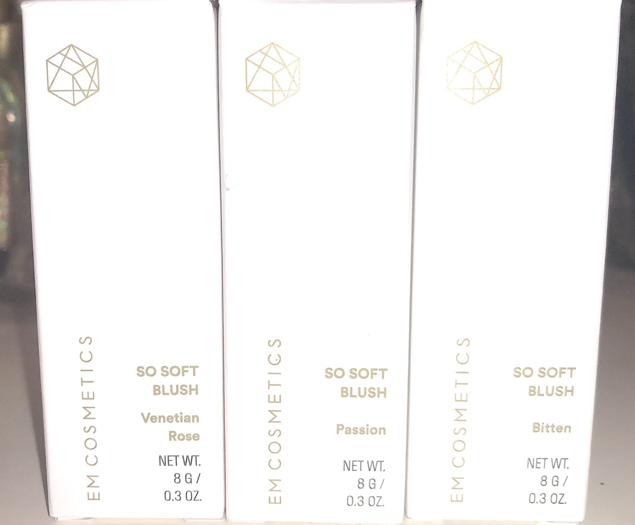 EM COSMETICS SO SOFT BLUSH COLLECTION OUTER BOXES