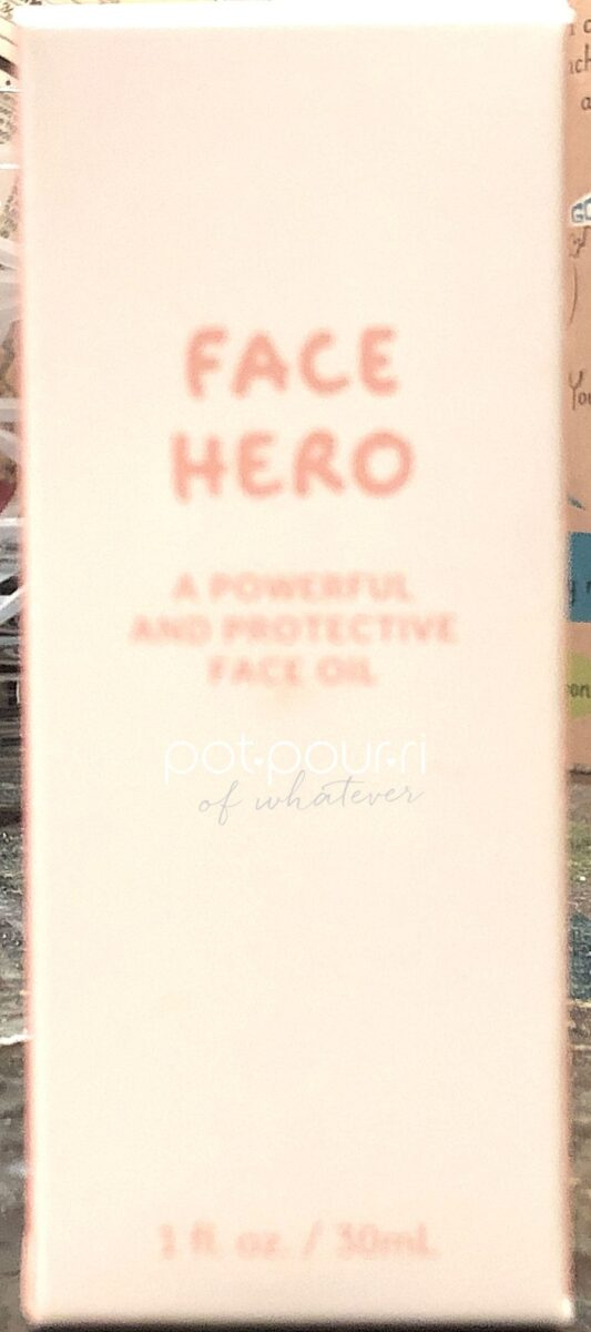 MAY IPSY GLAM BAG PLUS PRODUCT FACE HERO FACE OIL PACKAGING