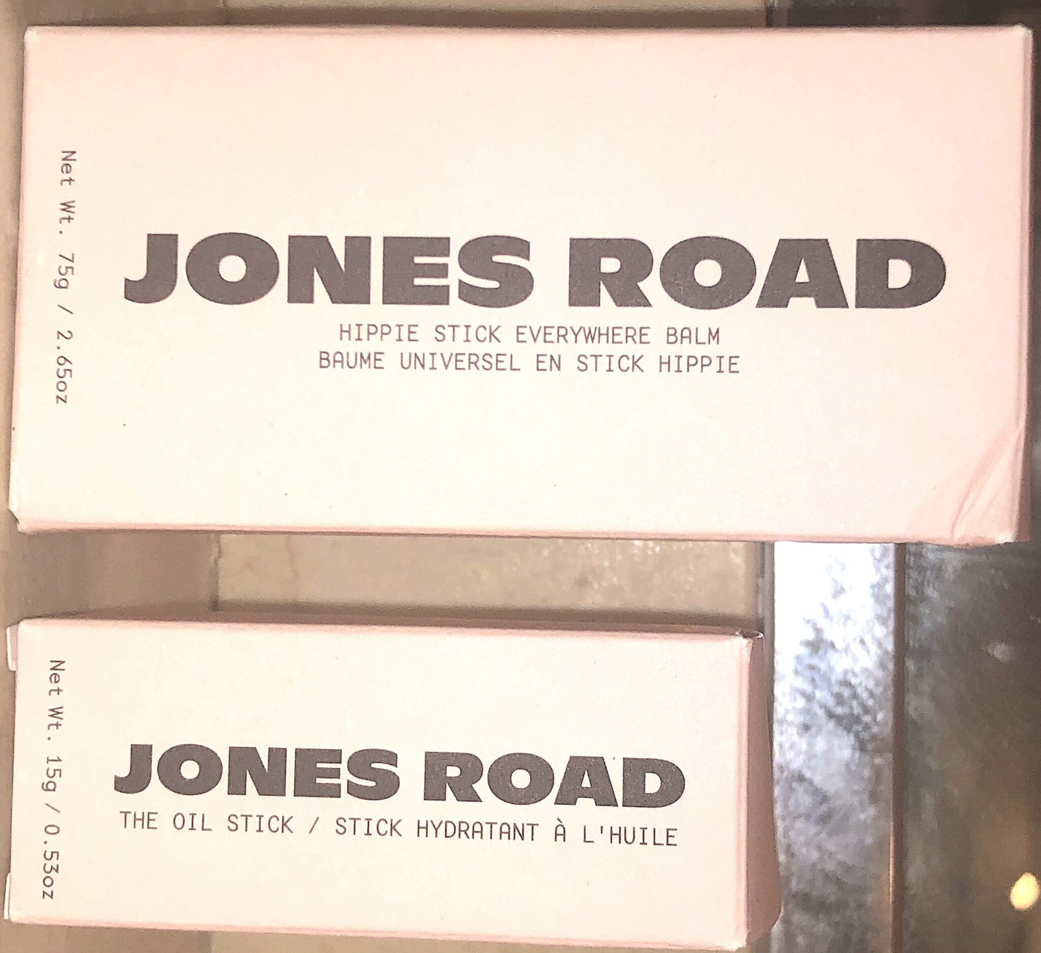 JONES ROAD CLEAN SKINCARE OUTER PACKAGING BOXES
