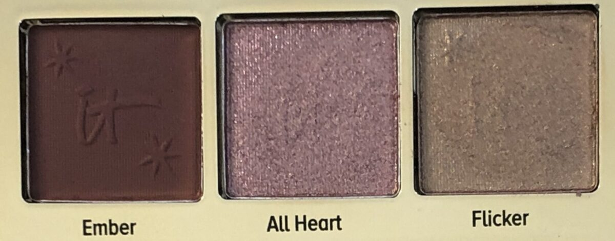 EYESHADOWS ROW 3