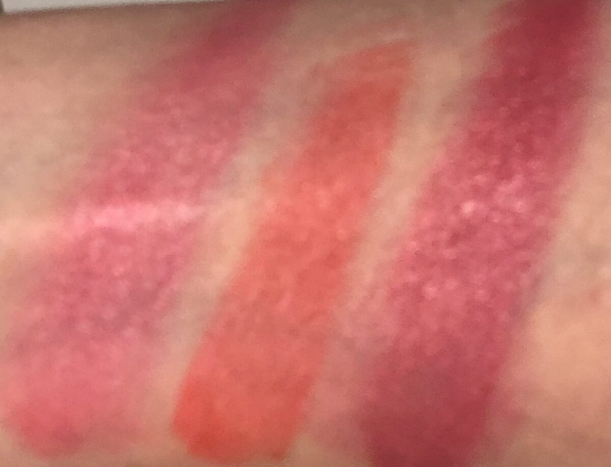 L TO R: SWATCHES CRUSH ON CUPID; DAIQUIRI DIP; SUMMERTIME WINE