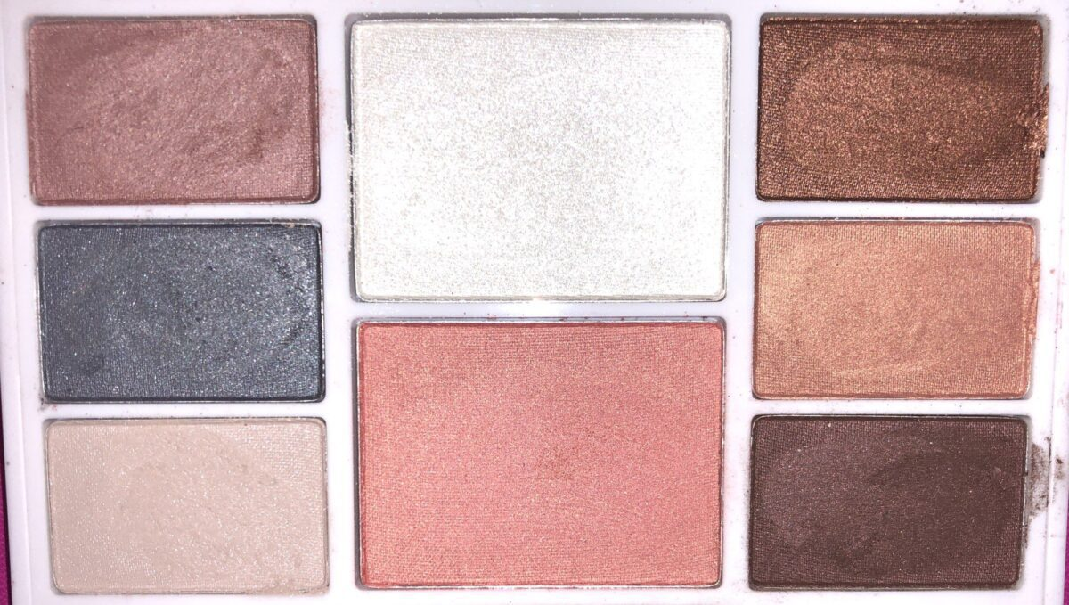 ALL OF THE SHADES IN THE RMS BEAUTY HIDDEN DESIRE PALETTE